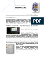 Consejo Técnico Escolar - Fase Intensiva 2014. Relatoría