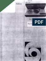 B&O Beogram 4004 Service Manual