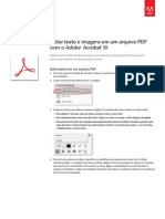 Adobe Acrobat Xi Edit Text and Images in a PDF File Tutorial Bp