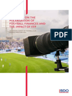 BDO, The Annual Survey of Football Finance Directors (2014)