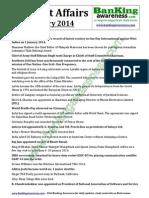 Current Affairs January 2014 Www.bankingawareness