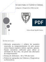 Diagnóstico Diferencial de Demências - PDF