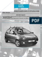Renault Twingo Service Manual French Technologie Des