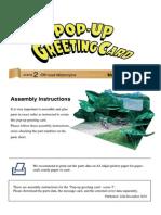 Pop-up card Assembly