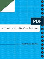 Software Studies - A Lexicon