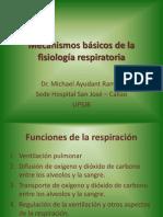 5-Mecanismos Básicos de La Fisiología Respiratoria UPSJB