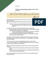 2013-11-20-halaqa notes-intercession