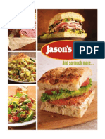 Jasons Deli Menu