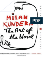 Milan Kundera-The Art of the Novel-Harper Perennial (1988)