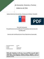Guía de Evaluación Procedimiento de Acreditación PSC FEA v2.1