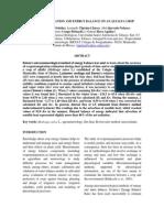 Evapotranspiración y Balance de Energía en El Cultivo de Alfalfa