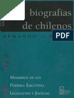 Biografías de chilenos