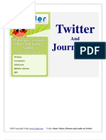 EBook on Twitter and Journalism