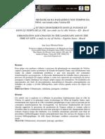 Freire, Any Lucy Oliveira. Urbanização e Mudanças Na Paisagem e Nos Tempos Da Vida