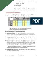Actividades Excel 2012