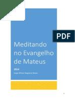 Meditando No Evangelho de Mateus
