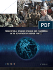 Sociocultural Behavior Research and Engineering in the Department of Defense Context