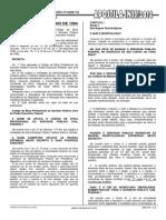 Estatuto Do Servidor Público Federal - Etica