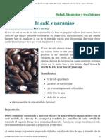 Licor Casero de Café y Naranjas __ Receta Casera de Licor de Café y Naranja __ Elaboración de Licores Caseros __ Licores Artesanales