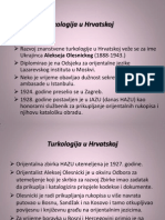 Turkologija u Hrvatskoj