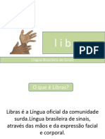 Língua Brasileira de Sinais.marlon