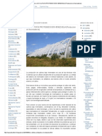 Casas de Cultivo_ Los Cultivos Protegidos en Venezuela (Produccion en Invernaderos)