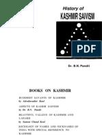 B.N. Pandit - History of Kashmir Saivism