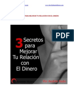 3 Secretos Para Mejorar Tu Relacion Con El Dinero