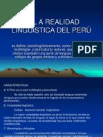 2-Diapo. l a Realidad Lingüística Del Peru