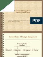 BSG 3-year Plan