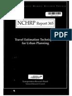 Nchrp Report 365
