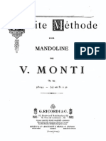 Monti,Vittorio - Petite Methode for Mandolin, Op.245 (Score)
