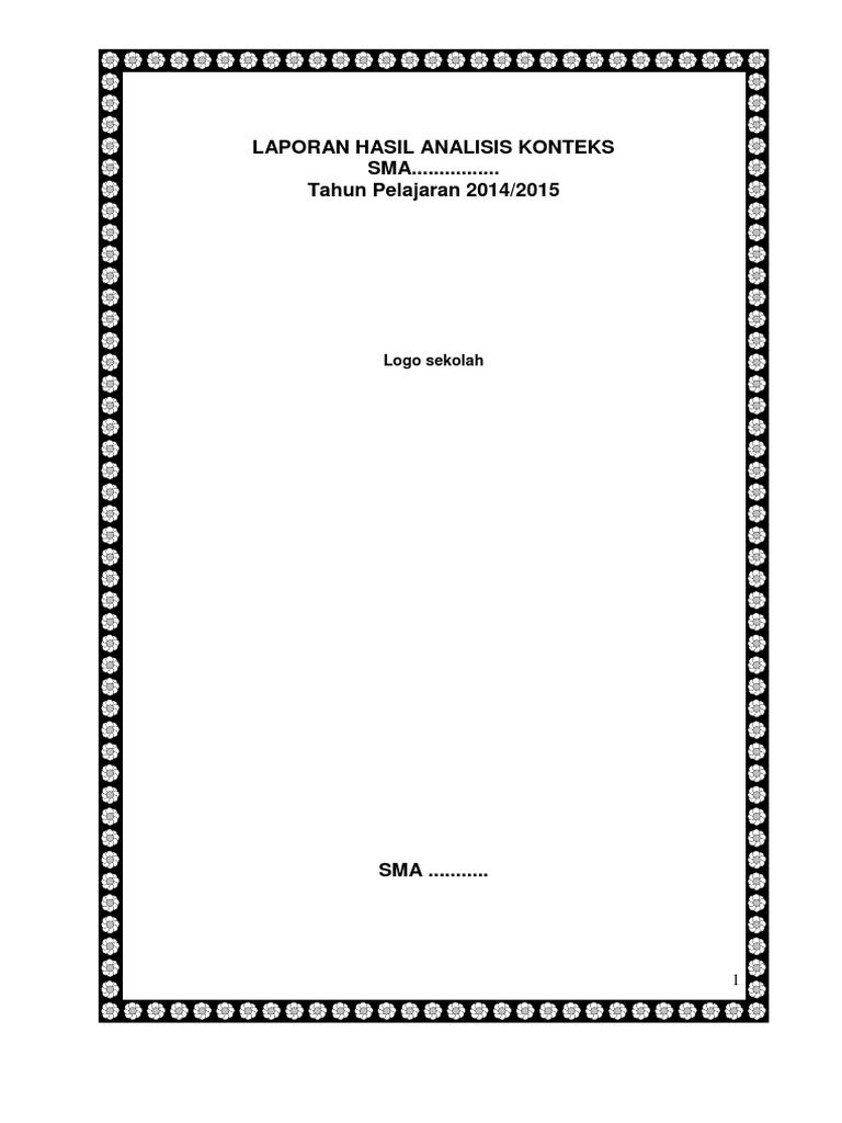 Lap Hasil Analisis Konteks Al Izha Docx