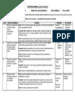 Planificacion Semanal Clase a Clase Musica 2014