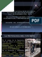1° CLASE TEC-CONCRETO 2013