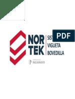 Vigueta Bovedilla Nortek -Cemento Pacasmayo