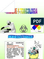Agentes Físicos y Químicos