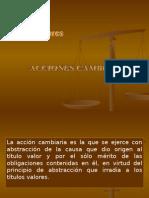 ACCIONES CAMBIARIAS MONOGRAFIA