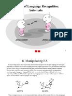 Chapter 08. Manipulating Finite State Automata
