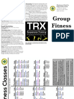 Fitness Brochure 8/14
