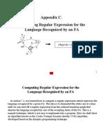 Appendix C. Computing Regular Expression