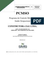 (327880777) Pcmso Construtora Zag - Oliveira 2013
