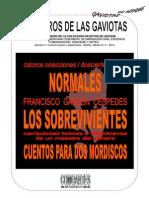 ··+COLECCIÓN+LOS+LIBROS+DE+LAS+GAVIOTAS.+CIINOE-COMOARTES.+3.+FRANCISCO+GARZÓN+CÉSPEDES.+NORMALES+LOS+SOBREVIVIENTES