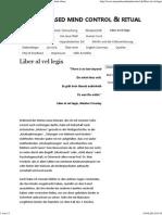 Liber Al Vel Legis › Trauma Based Mind Control & Ritual Abuse_Fall Sadegh Et Al. Österreich