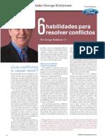 6 Habilidades Para Resolver Conflictos