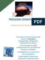 PROCESOS COGNITIVOS presentacion