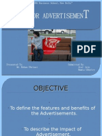 Outdoor Advertisement Presentation