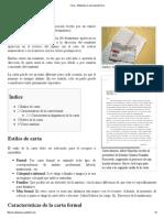 Carta - Wikipedia, La Enciclopedia Libre