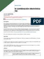 Cerradura de Combinación Electrónica Basada en PIC
