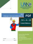 Unidad 3 Ecuaciones de Primer Grado